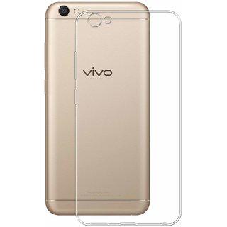 Vivo V5 Lite Soft Silicon Cases D  Y - Transparent