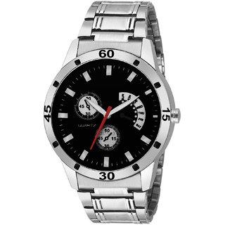 29K Analog Round Black Dial Men Watch / Fashionable Men Watch / Watches For Men -066