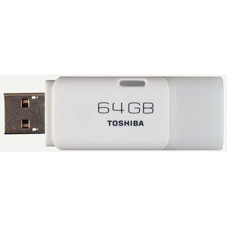 Toshiba HAYABUSA U202 64 GB USB 2.0 Pen Drive White