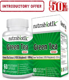 Nutrabiotik  Green Tea Extract Supplement With 90 Polyp