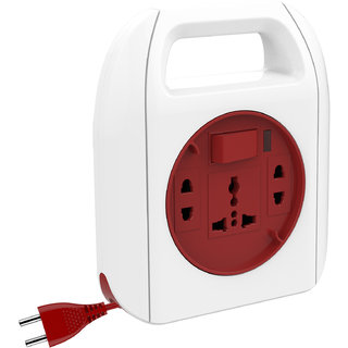 Goldmedal Sliq 2 Pin Extension Cord 205116 (With International Sockets Master Switch Handle and 5m Power Cord)