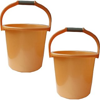 Milton New 20 L Plastic Bucket(Orange)