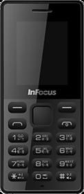 Infocus Hero Smart P4 Black (Dual Sim, 1.8 Inch Display