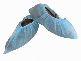 OM Non Woven Disposable Shoe Cover-(pack of 100 )