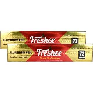 SM Freshee Aluminium Foil 72 Meter - Pack of 2