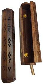 Desi Karigar Wooden Agarbatti Incense Stick Dhoop Batti Box