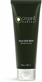 Organic Harvest Neem Face Wash, 100ml