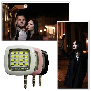 JMO27deals Selfie Flash 16 Light Fill-in Light Pocket Spotlight for all smartphones apple phones