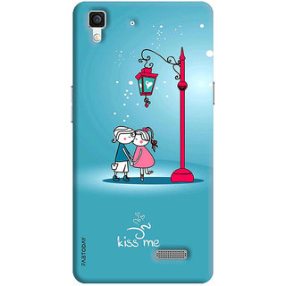 online retailer 8da66 1f096 FABTODAY Back Cover for Oppo R7 Lite - Design ID - 0014