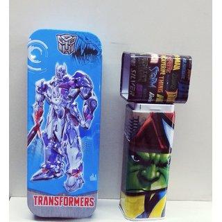 Pencil Box Combo (Transformers  Avengers Theme)