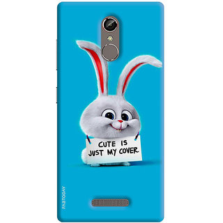 FABTODAY Back Cover for Gionee S6s - Design ID - 0153