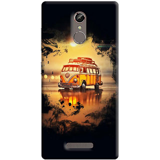 FABTODAY Back Cover for Gionee S6s - Design ID - 0510