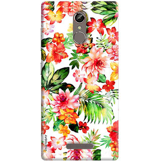 FABTODAY Back Cover for Gionee S6s - Design ID - 0154