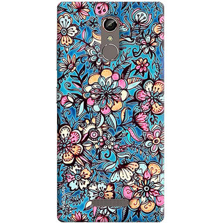 FABTODAY Back Cover for Gionee S6s - Design ID - 0160