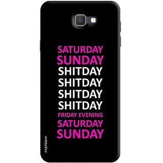 FABTODAY Back Cover for Samsung Galaxy J7 Prime - Design ID - 0440