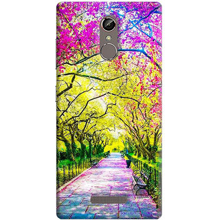 FABTODAY Back Cover for Gionee S6s - Design ID - 0521