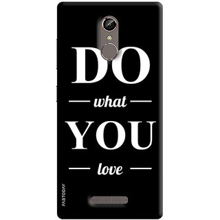 FABTODAY Back Cover for Gionee S6s - Design ID - 0300