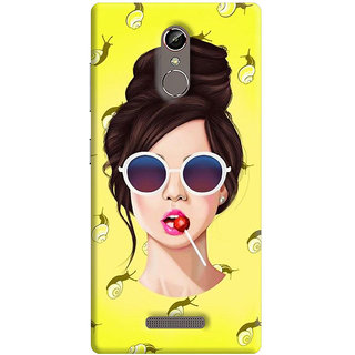 FABTODAY Back Cover for Gionee S6s - Design ID - 0656