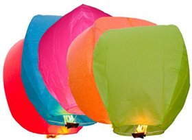 voco sky lanterns (pack of 3)