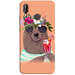FABTODAY Back Cover for Huawei P20 Lite - Design ID - 0910