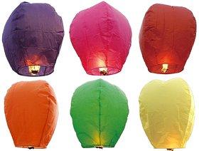 hot air ballons (sky lanterns pack of 10)