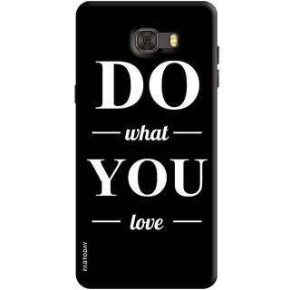 FABTODAY Back Cover for Samsung Galaxy C9 Pro - Design ID - 0300
