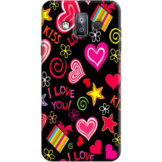 FABTODAY Back Cover for Samsung Galaxy J7 Duo - Design ID - 0034