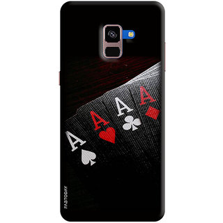 FABTODAY Back Cover for Samsung Galaxy A8 Plus 2018 - Design ID - 0032