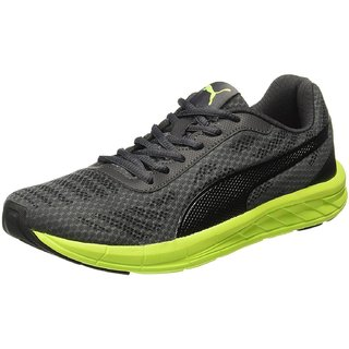 Puma Mens Meteor IDP Black Running Shoes_x000D_
