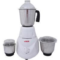 VS Star Line 500 W Mixer Grinder  (White, 3 Jars)