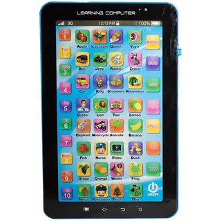 English Learner Kids Tablet ABC and 123 Learning P1000