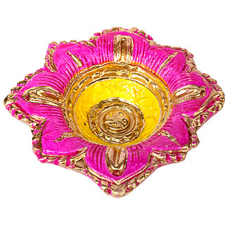 COLOURFUL EARTH BURN DIYA 02