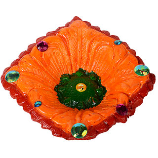 COLOURFUL EARTH BURN DIYA 03