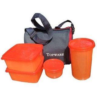 Topware lunch box Color Orange