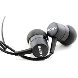 SONY MH750 STEREO HEADSET EARPHONE HANDSFREE HEADPHONE WITH MIC And 35 MM JACK