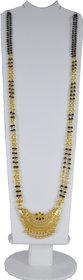 RADHEKRISHNA golden color alloy material beautiful long 24 mangalsutra