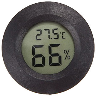 Futaba Mini Temperature Humidity Meter - Black
