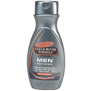 Palmers Cocoa Butter Formula With Vitamin E Mens Body Face 24 Hours Moisture 250 ml
