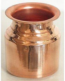Clickmart Pure Copper Pooja Lota 250 ML