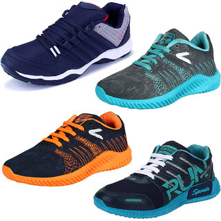 Aramdo Men/Boys Multicolor Combo Pack-4 Sports Shoes
