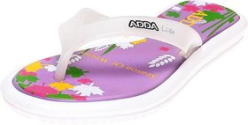 Adda Comfortable Purple Color  Flipflops For Women