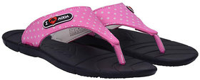 ADDA COMFORTABLE NAVY / PINK  COLOR FLIPFLOPS FOR WOMEN
