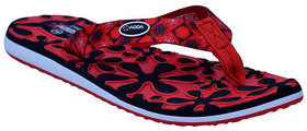 ADDA COMFORTABLE BLACK/RED  COLOR FLIPFLOPS FOR WOMEN