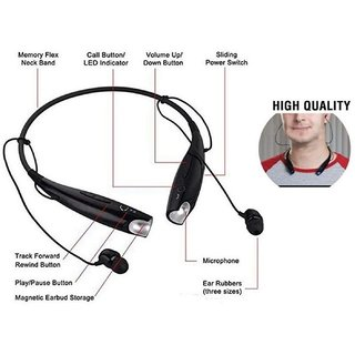 Orenics Neckband Wireless Headset (In the Ear)