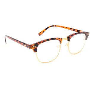 1ed1a05aaad TheWhoop Full Rim Brown Eye Glasses Wayfarer Unisex Spectacle Frame Stylish  Clubmaster Sunglasses For Men