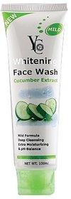 YC Whitening Face Wash-Cucumber Extract (100ml)