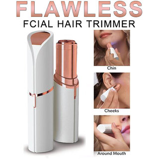 Adbeni Imported Flawless 18K Gold Plated Painless Facial Hair Remover Shaver For Women