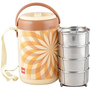 Cello Mark 4 Insulated Lunch Carrier Brown