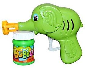 Bubble Gun Elephant Face Awesome Green