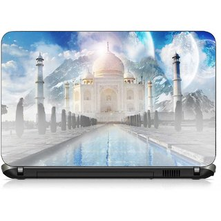 VI Collections TAJMAHAL IN HIMALAYA pvc Laptop Decal 15.6